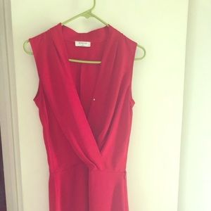 HOT RED DRESS From Aritzia